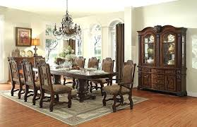 dining room exquisite 8 person dining table set on from enchanting 8 person dining table