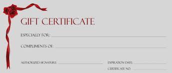 Gift Certificate Template Microsoft Word Magnificent Printable Blank Gift Certificate Template Free Scugnizziorg