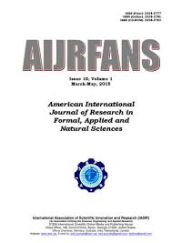 American International Journal of Research in Formal, Applied and ...