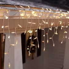hang lighting. Icicle Lights Hanging From A Gutter Hang Lighting