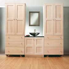unfinished wood storage cabinets. attractive unfinished storage cabinets with bathroom best 25 wall ideas on pinterest intended wood