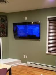 55 vizio smart tv on a tilt mount in wall hidden wires outlet 55 vizio smart tv on a tilt mount in wall hidden wires outlet behind