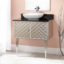 alphonse stainless steel wallmount vessel sink vanity