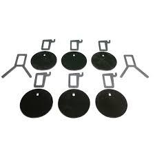 ar500 protable plate rack target system