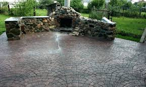 stone patio cost cost of patio installation co pertaining to s paver stone patio cost per