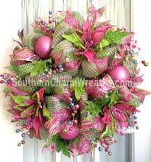 images of deco mesh wreaths