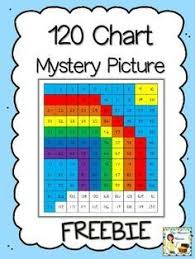 Rainbow Chart Work Free 120 Chart Mystery Picture Rainbow 120 Chart Math