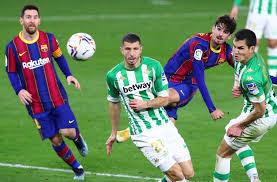 Spanish la liga match real betis vs barcelona 07.02.2021. Real Betis 2 3 Fc Barcelona La Liga Player Ratings