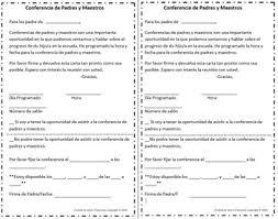 parent teacher conference letters spanish teacher parent conference letter by lizzys classroom tpt