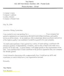 Formatting A Cover Letter For A Resume Application Letter Format And ...