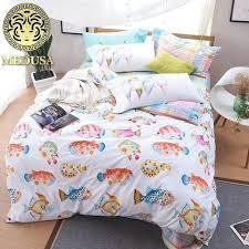 medusa coastal bedding set king queen size bedclothes sheet beach bedding king coastal