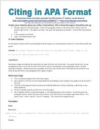 Apa Style Reseach Paper Apa Writing Format For Dummies Style Research Paper Template Essay