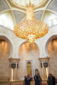 chandelier sheikh zayed grand mosque abu dhabi the petite wanderess