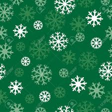 White Snow And Dark Green Background Patern For Texture On A