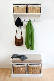 White Coat Rack With Storage Mudroom White Coat Rack Bench Hanger With Storage Racks For Sale 47