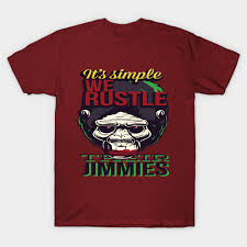 <b>It Is Simple We Rustle</b> Their Jimmies animals Classic T-Shirt ...
