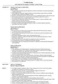 Shift Supervisor Resume Shift Supervisor Resume Samples Velvet Jobs 1