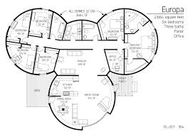 Earthbag Homes Plans Dome House Plans Monolithic Dome Home Plans Floor Plan Dl 3602