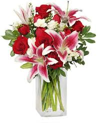 sweetly scented bouquet of flowers