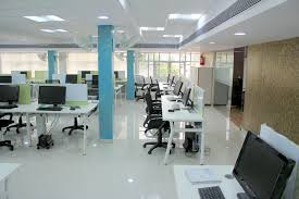 charming white office. Open Plan For Office Work Space Joshta Home Designs Charming White Finish Laminated Wooden Monitor Desk T