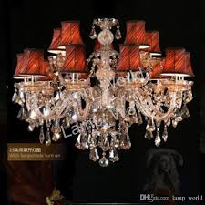 used crystal chandeliers best of modern crystal chandelier led lamps whole 15 lights pictures