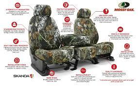 mossy oak camo seat covers