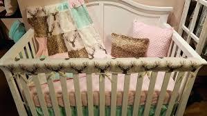 fawn crib bedding ready to ship girl crib bedding tulip fawn mint arrow fawn blush and fawn crib bedding