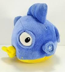 Anglerfish Light Up Plush Doc Mcstuffins Squeakers Blue Blowfish Fish And 50 Similar Items