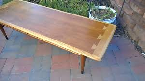 restoration of lane acclaim coffee table part 3