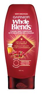 Garnier Whole Blends Argan Oil & Cranberry Colour Care Conditioner |  Walmart Canada