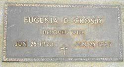 Eugenia Duncan Crosby (1920-1995) - Find A Grave Memorial