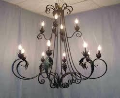 chandeliers design awesome popular outdoor candle chandelierspopular wrought iron chandelier and antler lighting rustic antique wroug