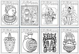 Small Picture Geography Resources Teaching about Africa Worksheets colouring