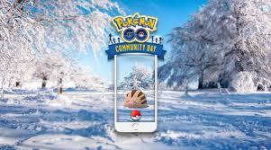Pokemon Swinub Evolution Chart Swinub Community Day Announced Pokemon Go Hub