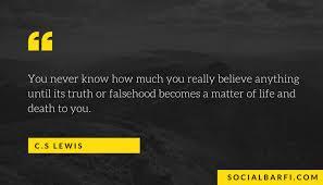 Quotes On Faith Classy Ten CS Lewis Quotes On Life Friendship And Faith SocialBarfi