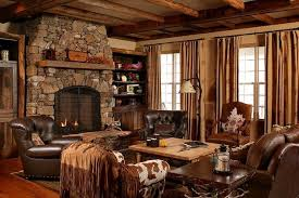 country style living rooms. Brown Leather Sofa For Country Style Living Room Rooms E
