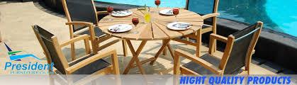 teak garden furniture for outdoor by
