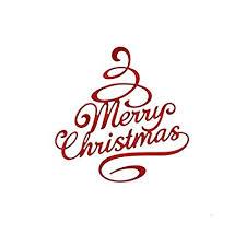 Album Word Amazon Com Deemoshop Merry Christmas Blessing Word Metal Cutting