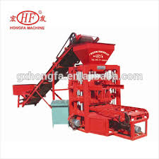 mechanical equipments list improved models hongfa hfb532m automatic material feeding concrete