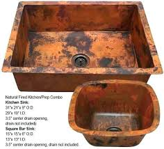 Copper Undermount  Bar Sink61
