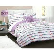 better homes and gardens kids ruffled stripes bedding quilt set full queen reviews