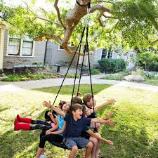 Tree Swing Atomic Rotator 360ao Swivel Hook Tree Swing Hanging Kit Two