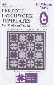 Marti Michell – Winding Ways Templates 11″ – Big Rig Quilting & Big-Rig-Quilting-Store-Gadgets-11-Winding-Ways Adamdwight.com
