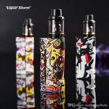 original vapor storm eco rda vape mods fashion box mod kit max 90w graffiti battery diy atomizer vaporizer e cigarette stock offer e cig kit uk e cig