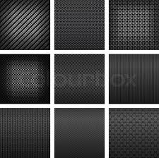 Different Types Of Patterns Unique Carbon And Fiber Seamless Patterns With Dark Gray Fabric Textures