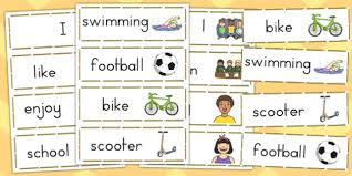 Transition Word Bank Word Cards Australia Transition