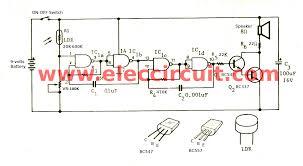 morning sun alarm circuit using ic eleccircuit com diagram of simple alarm circuit project at Sample Schematic Diagram For Alarm