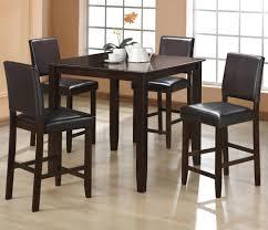 5 Piece Bar Table Set Crown Mark Derick 5 Piece Counter Height Table Set Wayside