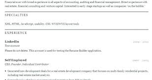 Resume Online Builder this is free resume maker online goodfellowafbus 86