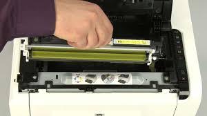 Replacing A Cartridge Hp Laserjet Pro Cp1025nw Color Printer